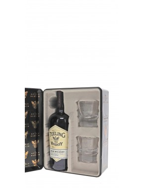 COFFRET 2 VERRES WHISKY TEELING SMALL BATCH 46°   70CL
