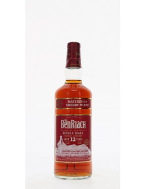 WHISKY BENRIACH 12 ANS SHERRY WOOD FINISH 46°   70CL