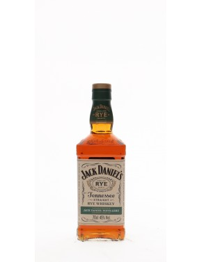 WHISKY JACK DANIEL'S STRAIGHT RYE  45°   70CL